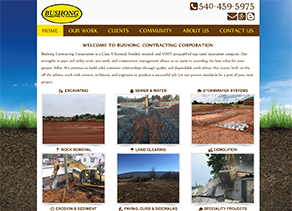 Bushong Contracting located in Woodstock, Virginia 22664