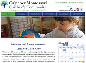 Culpeper Montessori Children's Community located in Culpeper, VA 22701