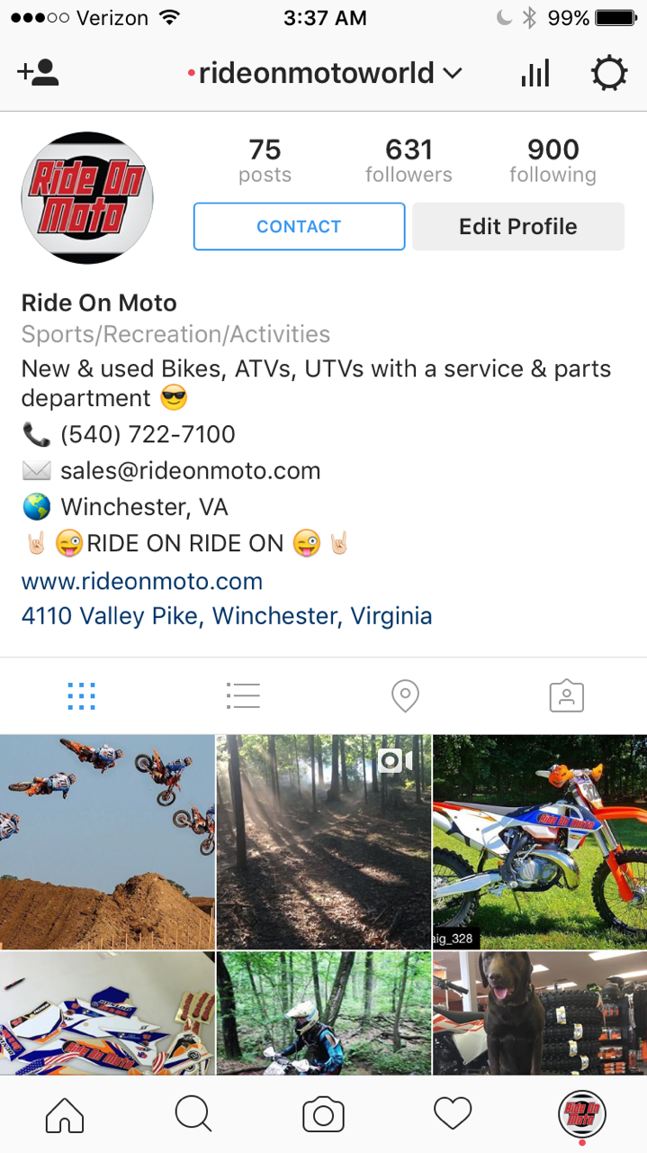 Ride On Moto located in Winchester, VA 22602