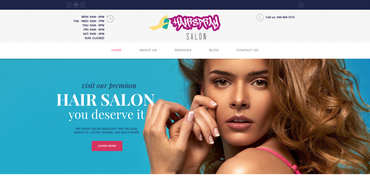 Hairspray Salon LLC located in Woodstock, VA 22664