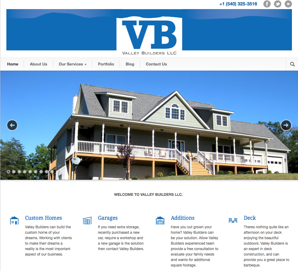 Valley Builders LLC located in Fort Valley, VA 22652
