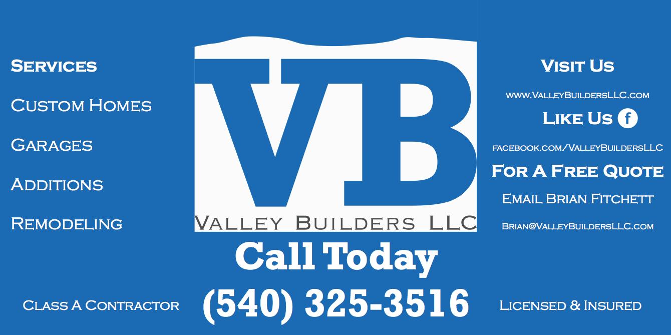 Valley Builders LLC located in Fort Valley, VA 22652