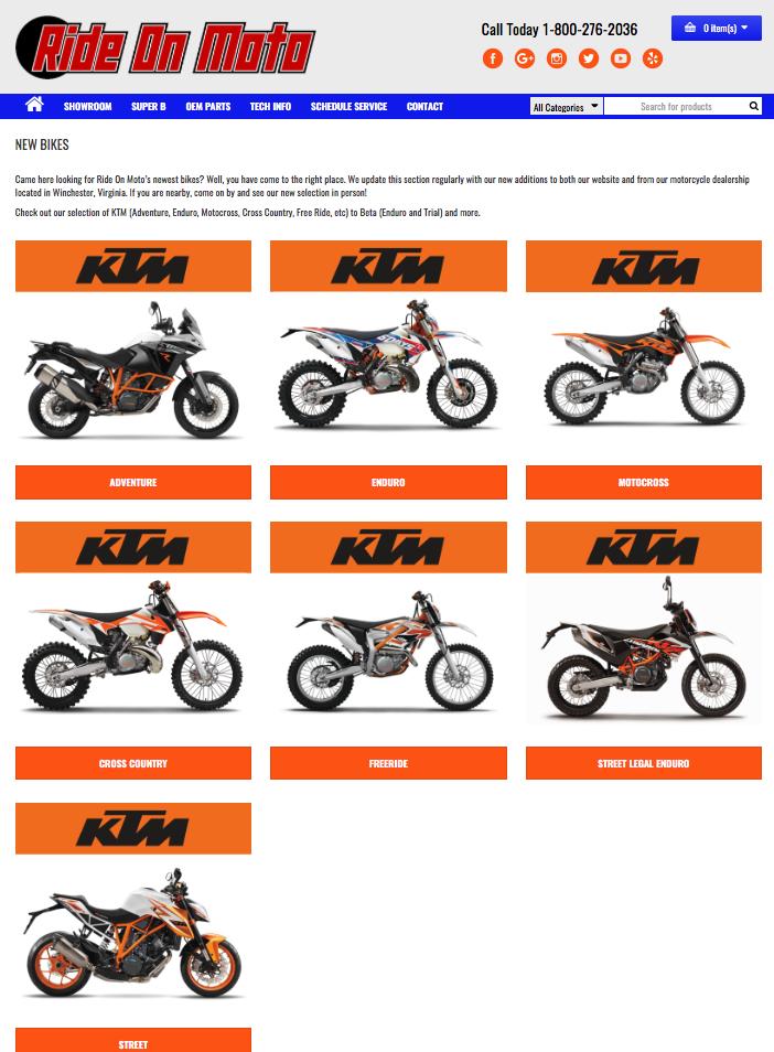 Ride On Moto located in Winchester, VA 22602