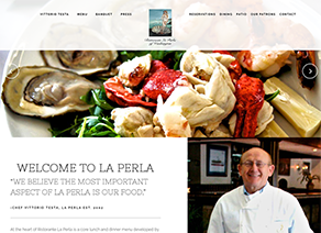 Ristorante La Perla of Washington located in Washington, DC 20037