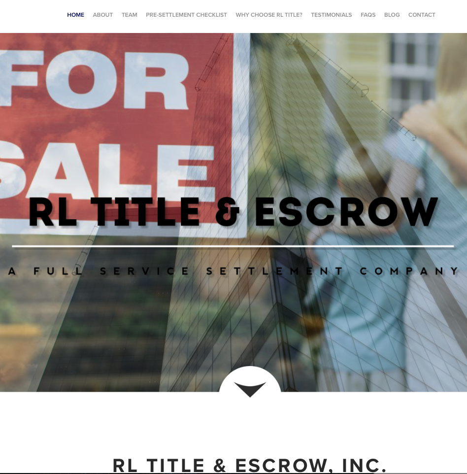 RL Title & Escrow located in 8500 Leesburg Pike, Suite 402, Vienna, VA 22182