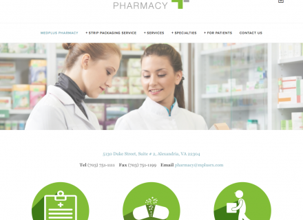 MedPlus Pharmacy located in 200 Cameron Station Blvd, Alexandria, VA 22304